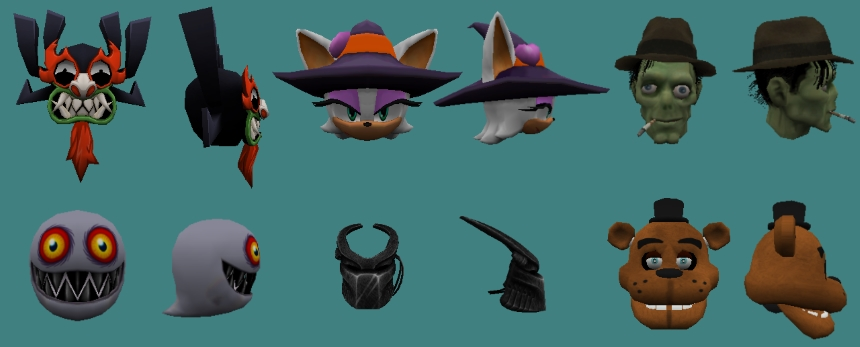 EFK Halloween 2016 Hats