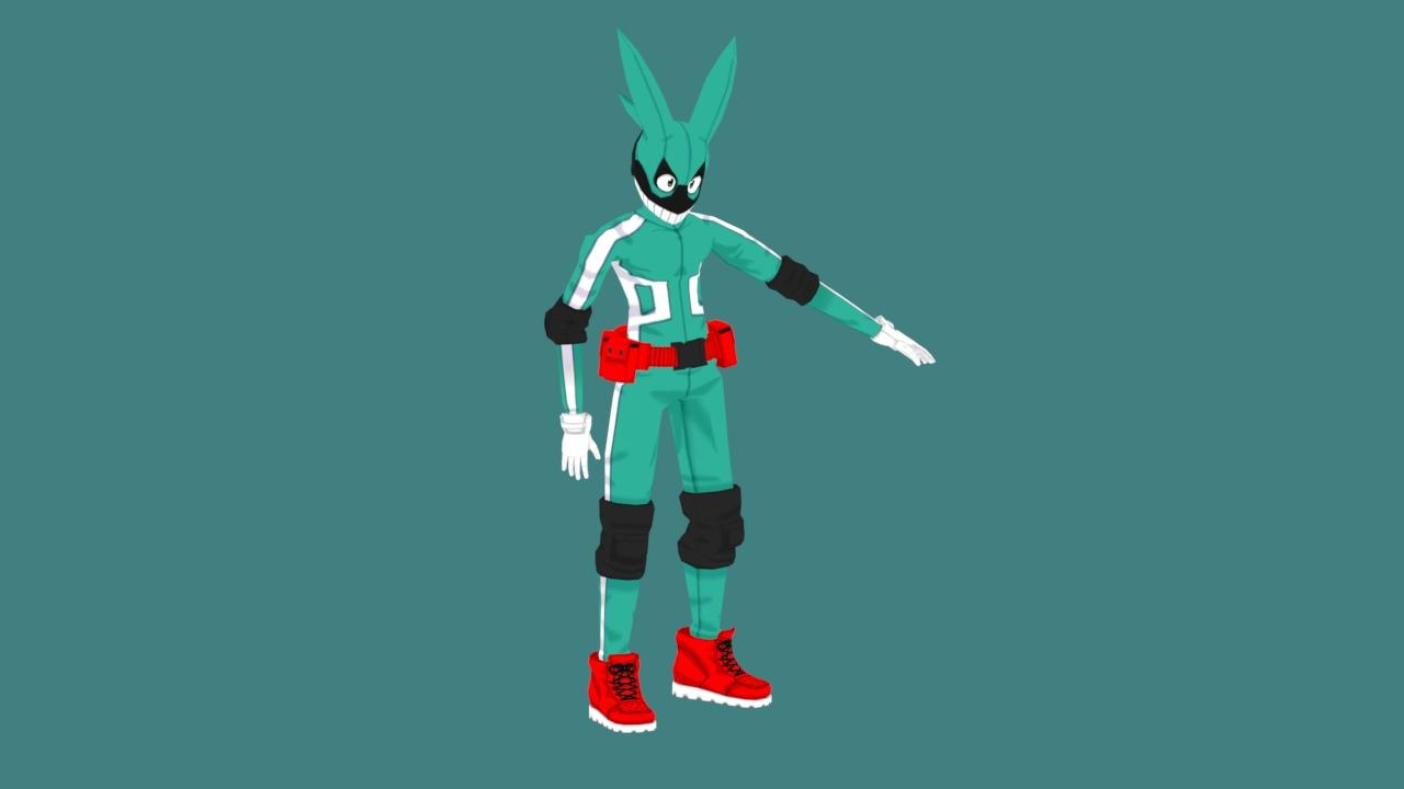 Izuku Midoriya (Hero Costume)